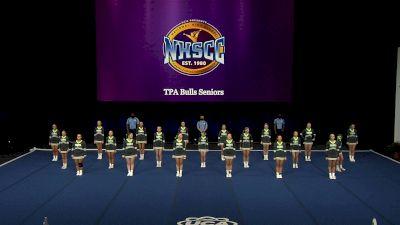 TPA Bulls Seniors [2021 Trad Rec Non Aff 14Y Semis] 2021 UCA National High School Cheerleading Championship