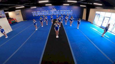 Tumble Queen - Majesty [L2 Junior - Non-Building] 2021 NCA All-Star Virtual National Championship