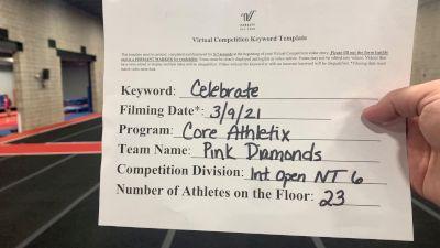 Core Athletix - Pink Diamonds [L6 International Open - NT] 2021 Spirit Festival Virtual Nationals