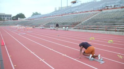 'If You Gotta Hit The Hurdles, Hit Them': Coach Flo On Aggressive Hurdling