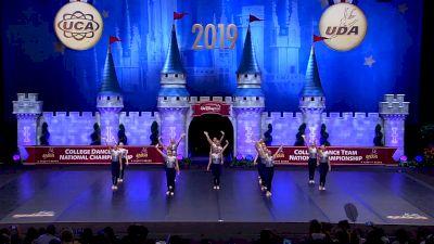 University of Iowa [2019 Division IA Jazz Semis] UCA & UDA College Cheerleading and Dance Team National Championship