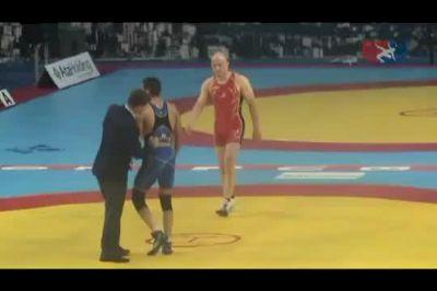 2011 Worlds Freestyle 84kg - Cael Sanderson (USA) vs. Ali Reza Goudarzi (IRI)