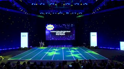 St Michael Albertville High School [2020 Large Game Day Division I Prelims] 2020 UCA National High School Cheerleading Championship
