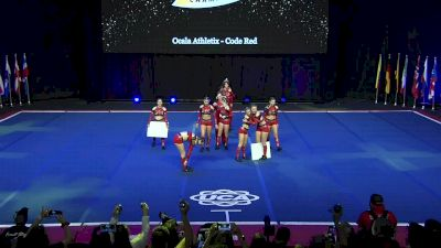 Ocala Athletix - Code Red [2020 L3 Senior Coed - Small] 2020 UCA International All Star Championship