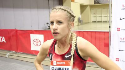 Karissa Schweizer Finishes Third In Mile To Complete Successful Weekend