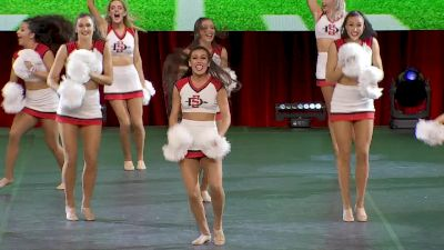 San Diego State University [2020 Division IA Dance Game Day Finals] 2020 UCA & UDA College Nationals