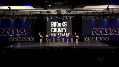 Brooks County High School Trojanettes [2020 Junior Varsity Game Day] 2020 NDA High School Nationals