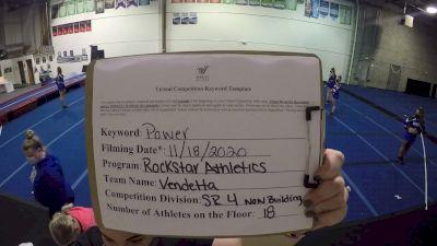 Rockstar Athletics - Vendetta [L4 Senior - Non-Building] Varsity All Star Virtual Competition Series: Event V