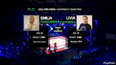 Emilia Tuukkanen vs Livia Gluchowska Copa Podio 2016 Heavyweight Grand Prix