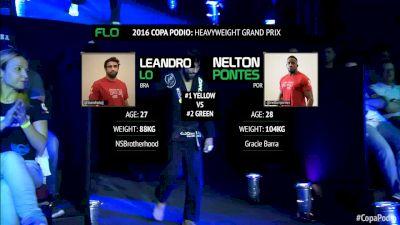 Leandro Lo vs Nelton Pontes Semi-Final Copa Podio 2016 Heavyweight Grand Prix