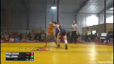 152 Finals - Ryan Leisure, Iowa vs Will Lewan, Illinois