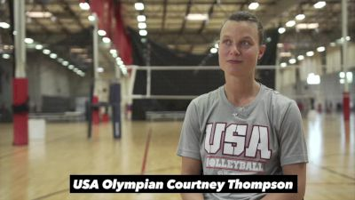 Courtney Thompson on Retiring