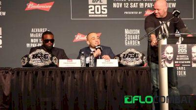 UFC 205: Conor McGregor vs. Eddie Alvarez Press Conference Highlights