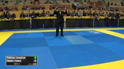 Thomas Oyarzun vs Travis Tooke 2016 IBJJF No-Gi World Championships