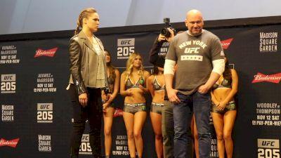 Video: Ronda Rousey vs. Amanda Nunes Intense Staredown