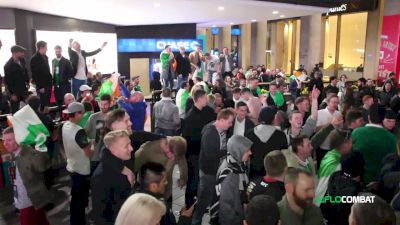 UFC 205 Video: Irish Fans Go Nuts for Conor McGregor Outside Madison Square Garden