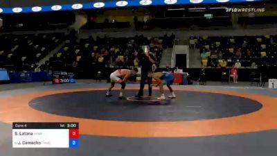 57 kg Consolation - Sam Latona, TMWC / SERTC vs Jakob Camacho, TMWC / Wolfpack RTC