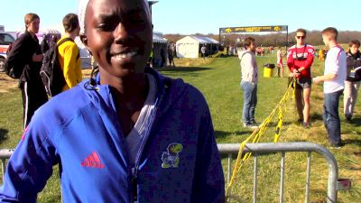 Big 12 Champ Sharon Lokedi is ready to roll at nationals