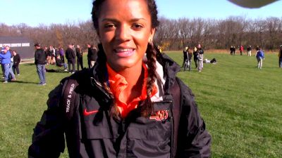 Kaela Edwards leads OSU to second place finish at Midwest Regionals