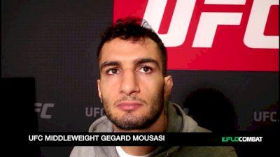 Gegard Mousasi UFC Belfast Interview