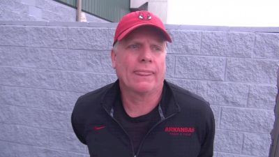 Arkansas' head coach Chris Bucknam on dealing with injuries and having everyone ready for Saturday