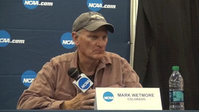 Mark Wetmore says this year's women's team has a better 5th-7th than any of his title teams