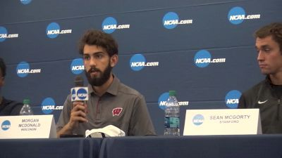 Morgan McDonald on how the Badgers adjusted from not qualifying last year