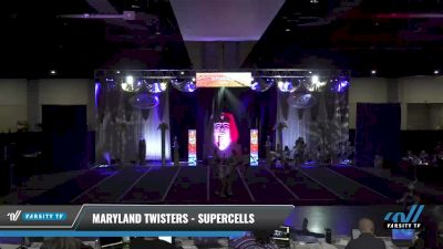 Maryland Twisters - Supercells [2021 L6 Junior Day 1] 2021 Queen of the Nile: Richmond