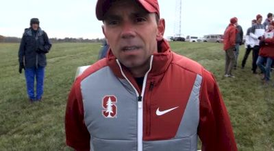 Stanford head coach Chris Miltenberg after three straight podium finishes