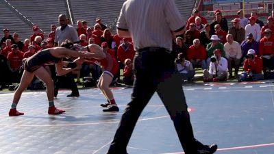 125 lbs Sean McCabe, Rutgers vs Ty Agaisse, Princeton