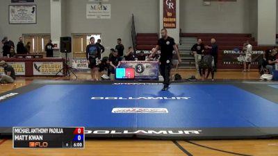 Michael Anthony Padilla vs Matt Kwan 2016 ADCC North American Trials