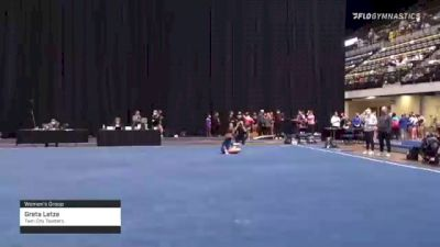 Greta Letze - Women's Group, Twin City Twisters - 2021 Women's Xcel Region 4 Championships