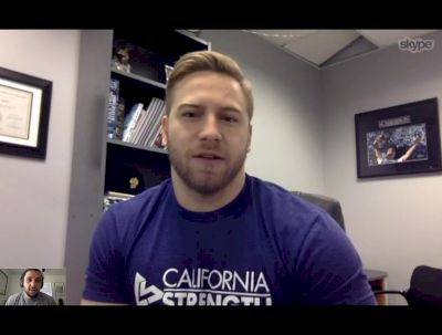 Wes Kitts On Recovering From Pan Ams And Getting Ready For The American Open
