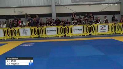 JARED N GAHM vs DAVID R VASQUEZ 2021 Pan IBJJF Jiu-Jitsu No-Gi Championship