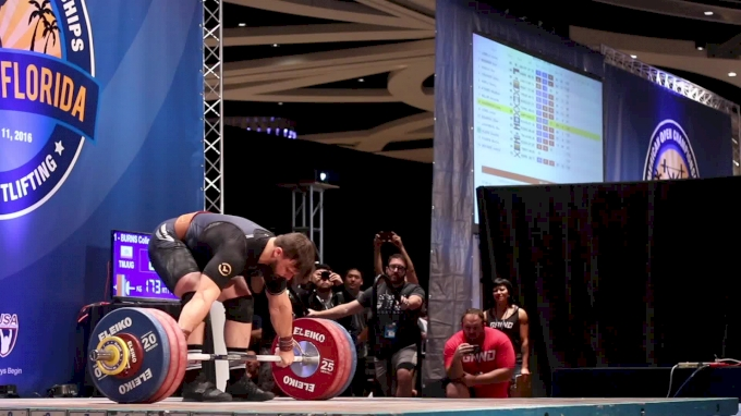 Colin Burns Sets A New American Record Snatch