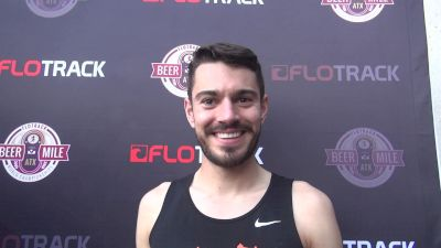 Garrett Cullen says satellite design and beer mile are equally hard