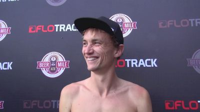 Aussie Josh Harris happy to see the growth of the beer mile
