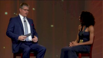 Bowerman Speed Round: Courtney Okolo