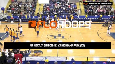 Simeon (IL) vs. Highland Park (TX) | 12.17.16 | National Hoopfest (Dallas)