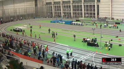 Girl's Sprint Medley Relay Red, Round 1 Heat 3