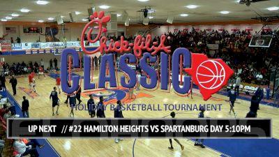 No. 22 Hamilton Heights Christian (TN) vs. Spartanburg Day (SC) | 12.23.16 | Chick-fil-A Classic