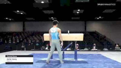 Asher Hong - Pommel Horse, Region 3 - 2021 Winter Cup & Elite Team Cup