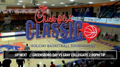 No. 13 Greensboro Day (NC) vs. Gray Collegiate (SC) | 12.23.16 | Chick-fil-A Classic