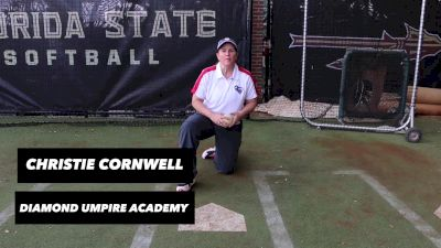 Umpire Christie Cornwell Offers Important Tips for Catchers