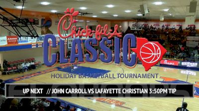 John Carroll (MD) vs. Lafayette Christian (LA)| 12.22.16 | Chick-fil-A Classic