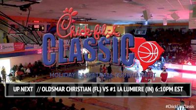 Oldsmar Christian (FL) vs. No. 1 La Lumiere School (IN) | 12.21.16 | Chick-fil-A Classic