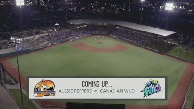 Full Replay - 2019 Aussie Peppers vs Canadian Wild - Game 1 | NPF - Aussie Peppers vs Canadian Wild - Gm1 - Jul 24, 2019 at 5:30 PM CDT