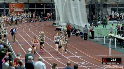 Girl's 4x200m Relay, Round 1 Heat 2