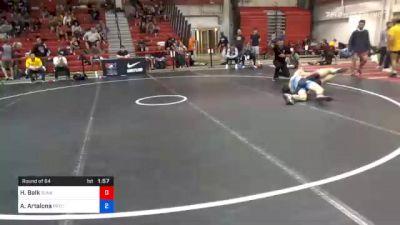 70 kg Prelims - Hunter Balk, Sunkist Kids Wrestling Academy vs Anthony Artalona, Pennsylvania RTC