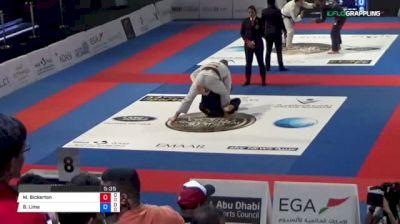 Max Bickerton Bruno Lima vs Bruno Lima 2018 Abu Dhabi World Professional Jiu-Jitsu Championship